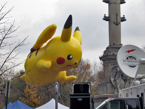 Macy's Thanksgiving Parade 2009 - Pikachu