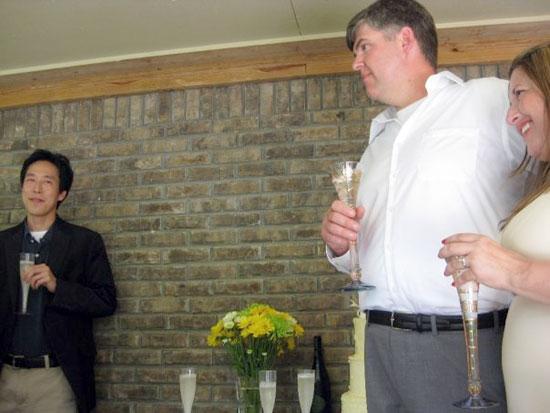Wade Kwon, Darrell, Jen - wedding toast